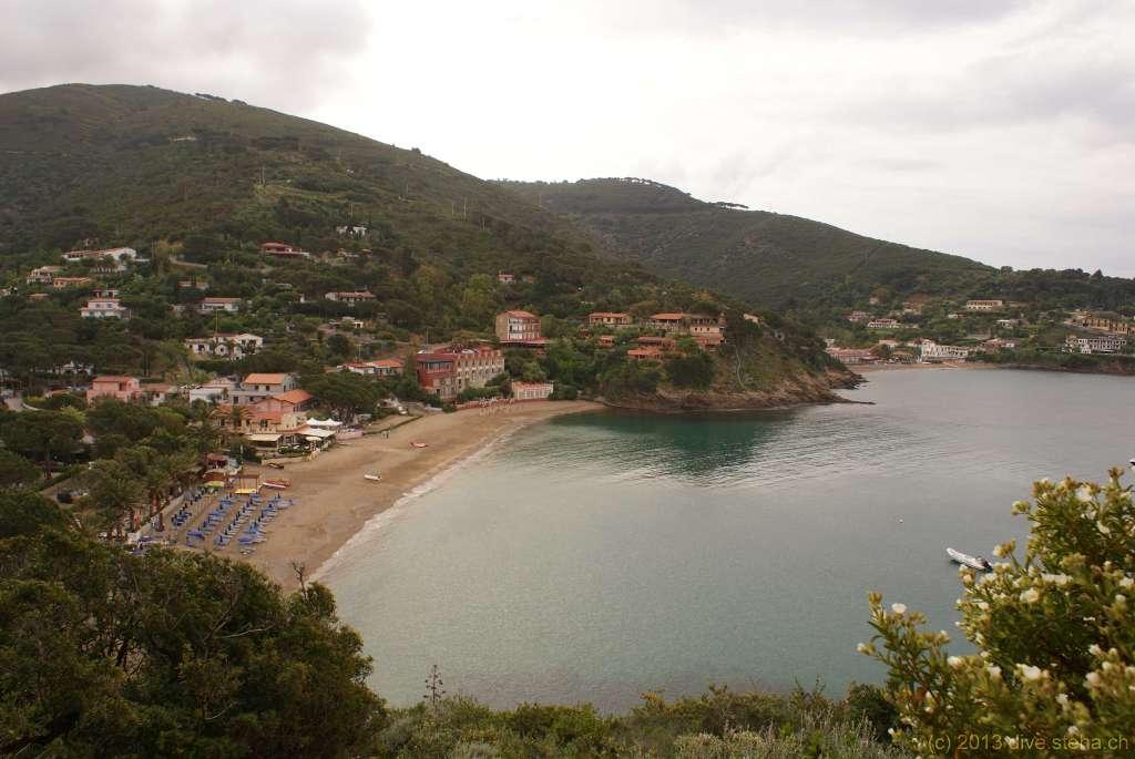 Morcone-Bucht, Elba